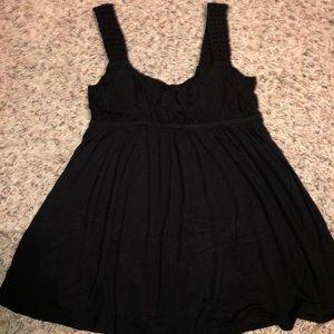 Women's Delia's tank top in black, Size Xsmall,